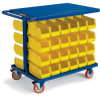 RELIUS SOLUTIONS Easy-Access Bin Carts -- 5993418