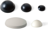 Rounded Adhesive Rubber Feet