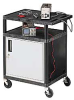 LUXOR Instrument Carts with Locking Cabinet -- 5200900