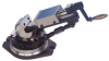 Three Axis Milling Machine Vise,4 In -- 19F399