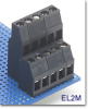2-Tier Fixed Terminal Block -- EL2M Right Offset Series - Image