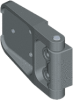 180 deg Hinge for insulated doors -- 1091-U117 - Image
