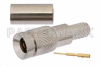 1.0/2.3 Plug Connector Crimp/Solder Attachment For RG55, RG142, RG223, RG400 -- PE44242 - Image