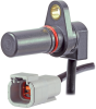 SNG-Q Series, quadrature speed and direction sensor, plastic housing, 35 mm housing length, Deutsch DTM04-4P connector with 1,25 m cable, right angle exit -- SNG-QPCA-001 - Image
