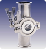 Sanitary Sight Flow Indicator -- Metaclamp® -Image