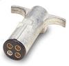 Pollak 11-402 4-Way Trailer Connector Plug, Heavy Duty -- 37645 -Image