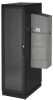 ClimateCab NEMA 12 Server Cabinet with Tapped Rails and 12000-BTU AC Unit - 42U, 79