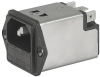 IEC Appliance Inlet C14 with Filter, Fuseholder 1-pole -- 5200 - Image