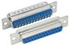 DB25 Female Solder Connectors, Tray 50 -- SD25S-TRAY - Image