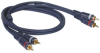 Cables To Go 3-Foot Velocity RCA Audio Interconnect Cable - -- 13032