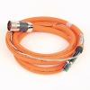 MP-Series 3 m Length Pwr and Brake Cable -- 2090-CPBM7DF-04AA03 -Image