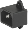 IEC Appliance Inlet C14, Screw-on Mounting, Front Side, PCB Terminal -- 8843.ZP30 -Image