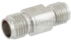 2.92mm Female (Jack) to 2.4mm Female (Jack) Adapter, Passivated Stainless Steel Body, 1.2 VSWR -- FMAD1026 - Image