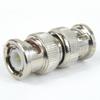 BNC Male (Plug) to BNC Male (Plug) Adapter, Nickel Plated Brass Body, 2 VSWR -- SM9010