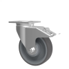 """Pair of 6"""" Casters Swivel with Brake (For R Cabinet) -- RB84-03 -- View Larger Image"""