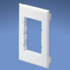 Surface Raceway : Surface Mount Boxes, Faceplates, & Receptacles : Faceplates : Use with Panduit Mini-Com Inserts -- T70B2AW