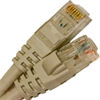 CAT5E 350MHZ ETHERNET PATCH CORD GRAY 1 FT SB -- 26-250-12 -Image