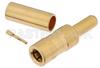 SSMB Plug Connector Crimp/Solder Attachment for RG188-DS, RG316-DS -- PE45153 -Image