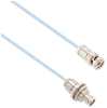 Lead Free High Temp 1553 Twinax Cable Assembly Plug To Insulated Bulk Head Cable Jack .75 Meter -- MSA00440-075M -Image