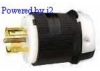Locking Plug 20A 250V 4P -- 78358503991-1 - Image