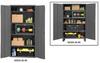 16 Gauge, Adjustable Shelf Cabinets -- H2506-4S-95 -Image