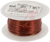 WIRE, MAGNET, SOLDERABLE, 18AWG, POLYURETHANE/NYLON COATED, 100FT CLEAR (TRANSPA -- 70004243