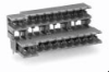 US Pin Spacing Double Level Headers -- 37.876