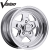Vision - 521 Nitro Polished - 15 x 7