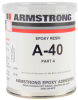 Armstrong A-40 Epoxy Adhesive Resin Part A Gray 1 pt Can -- A-40A PT
