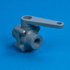 PVC Three-Way Plastic Ball Valves - 350 Series -- 22246