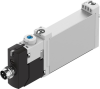 Air solenoid valve -- VUVG-B10-M52-RZT-F-1R8L -Image