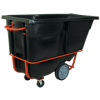 1 cu. yd. - Black - Heavy-Duty Tilt Truck -- RUB160 - Image