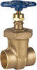 Gate Valve – Bronze, Non-Rising Stem, Union Bonnet, Solder -- S-136 - Image