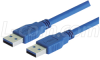 USB 3.0 Cable Type A - A, 1.0m -- CAU3AA-1M
