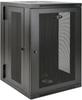 SmartRack 18U UPS-Depth Wall-Mount Rack Enclosure Cabinet, Hinged Back -- SRW18USDP -- View Larger Image