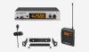 Wireless Clip Microphone System - Presentation Set with ME 4 clip-on microphone -- ew 322 G3
