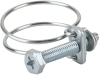 Hose clamp for securing wire-reinforced hoses SSD 38-43 ST-VZ -- 10.07.10.00019 - Image