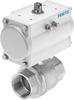 Ball valve actuator unit -- VZBM-A-11/4