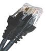 CAT5E 350MHZ ETHERNET PATCH CORD BLACK 10 FT SB -- 26-254-120 -Image