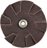 Merit AO Coarse Grit Overlap Slotted Disc -- 8834184041 - Image