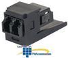 Panduit® Mini-Com LC Duplex Fiber Optic Adapter with.. -- CMDSBLLCEI