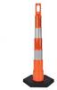 Navicade Traffic Channelizer w/16 lb Base -- 650R1-O-4-HIP-A-RB16