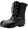 Servus A422 Black 7 Steel-Toe General Purpose Work Boots - 10 in Height - Leather Upper and Felt/Rubber Sole - A422 SZ 7 -- A422 SZ 7