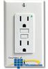 Leviton SmartLockPRO Duplex Receptacle 20 Amp, 125 Volt,.. -- T7899