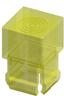 T-1 3/4 Lens Cap-Yellow -- 8682 - Image