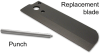 Replacement Blade for Flexible Tubing Cutters -- 453