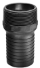 Polypropylene Combination Hose Nipples - PPN Series / NPT Thread -Image