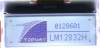 128x32 Graphic Display Module -- LM12832HCW - Image
