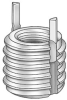 Thread Insert,Locking,10-32,Pk10 -- 5WY71