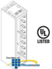 """Chatsworth Products M-Series MegaFrame Cabinet 19"""" W.. -- M1050 -- View Larger Image"""